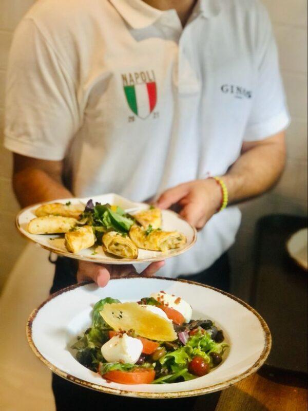 Disfruta de nuestros platos en Ginos Salamanca